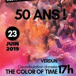50 ANS DU CSC KERGOMARD - THE COLOR OF TIME
