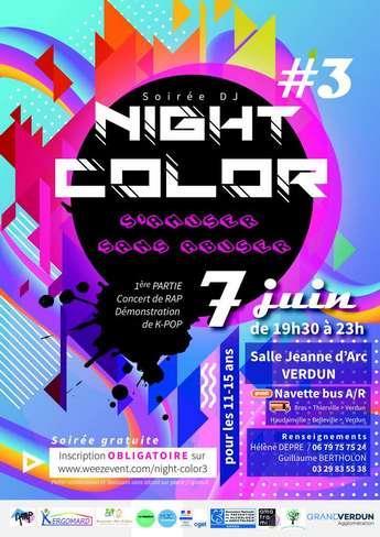 NIGHT COLOR  #3 À LA SALLE JEANNE D'ARC