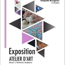 EXPOSITION DE L'ATELIER D'ART À LA CHAPELLE BUVIGNIER