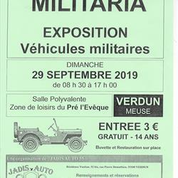 BOURSE AUX ARMES - MILITARIA - EXPOSITION VÉHICULES MILITAIRES