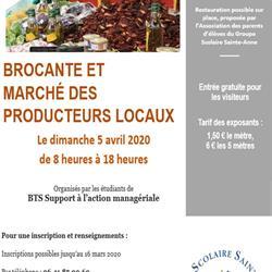 BROCANTE ET MARCHÉ DES PRODUCTEURS LOCAUX