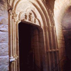 Portail de la Crypte Saint Dagobert