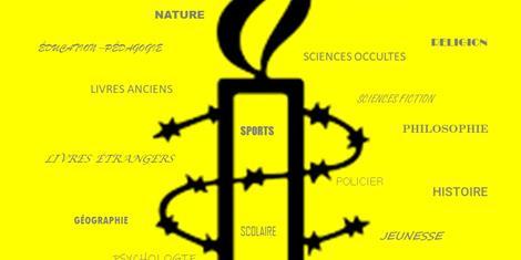 image - FOIRE AUX LIVRES D'AMNESTY INTERNATIONAL