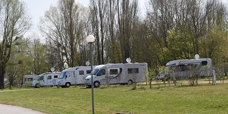 image - AIRE DE STATIONNEMENT CAMPING-CAR DU LAC DE MADINE - HEUDICOURT