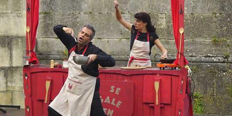 image - THÉÂTRE CULINAIRE 'LA QUICHE EN 5 ACTES'