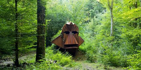 image - SORTIE NATURE / ARTISTIQUE : L'ART SENS DESSUS DESSOUS