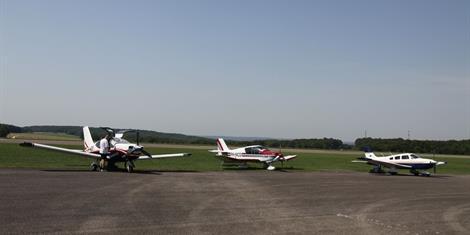 image - FLIGHT OVER BATTLEFIELDS FROM LE ROZELIER AERODROME