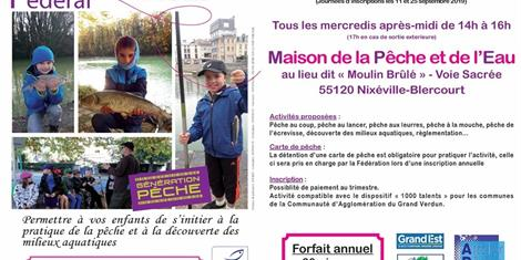 image - ATELIER PECHE NATURE FEDERAL