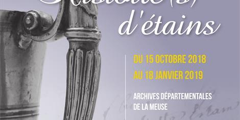 image - EXPOSITION 'HISTOIRE(S) D'ÉTAIN'