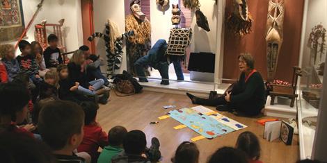 image - MUSÉE BARROIS EN FAMILLE 'BAS LES MASQUES !'