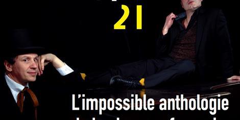 image - SPECTACLE MUSICAL L'IMPOSSIBLE ANTHOLOGIE DE LA CHANSON FRANCAISE