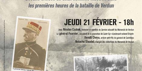 image - CONFÉRENCE : LE LIEUTENANT-COLONEL DRIANT ET LE GÉNÉRAL DE CASTELNAU