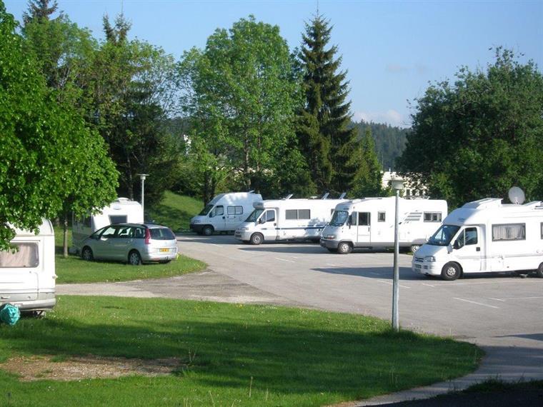 Aire de services - camping Le Champ de Mars