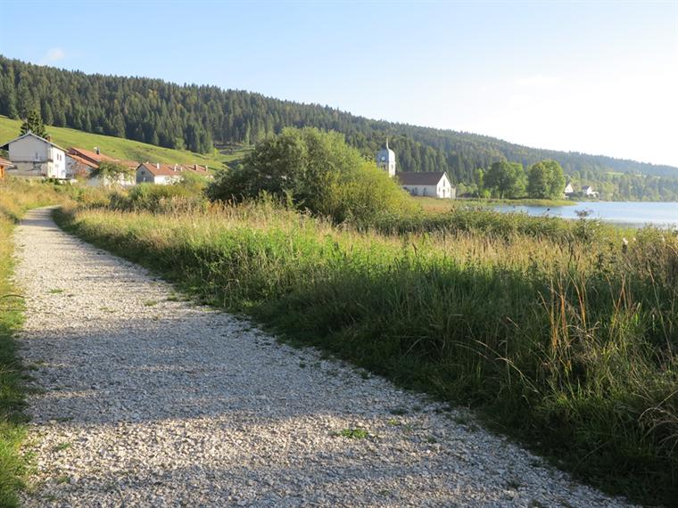 Circuit du tour du lac de l'Abbaye