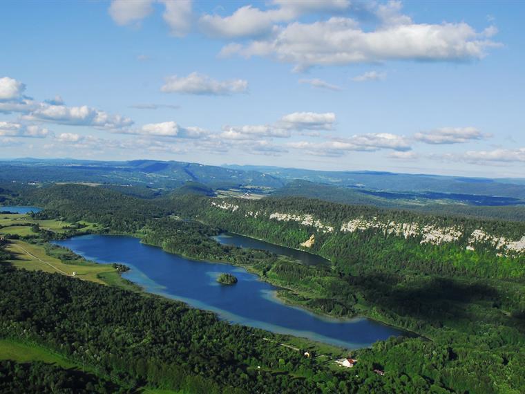 Le lac d'Ilay