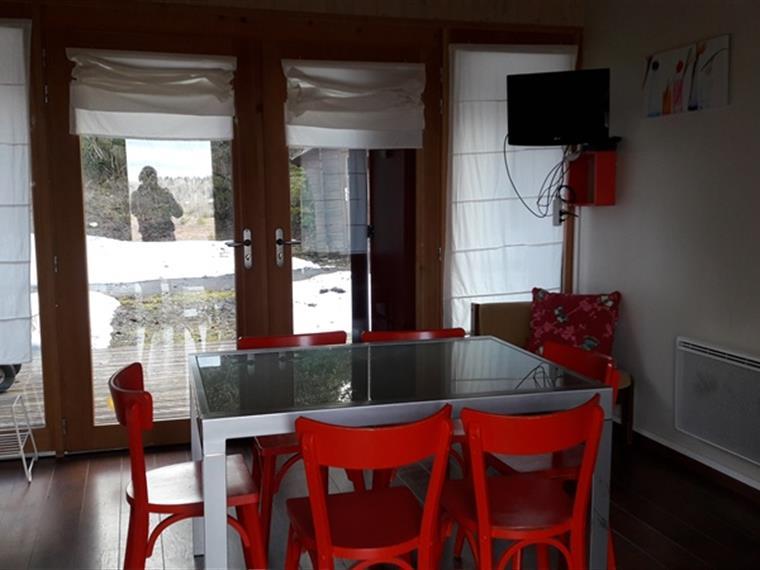 Cottages du Bugnon : coin séjour